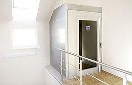 Automatische Türen für den Homelift
