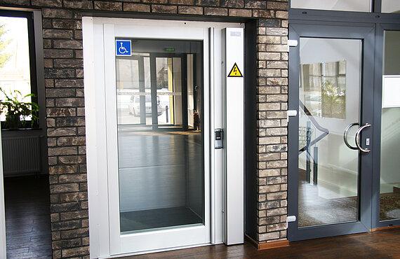 Homelift für Rollstuhlfahrer