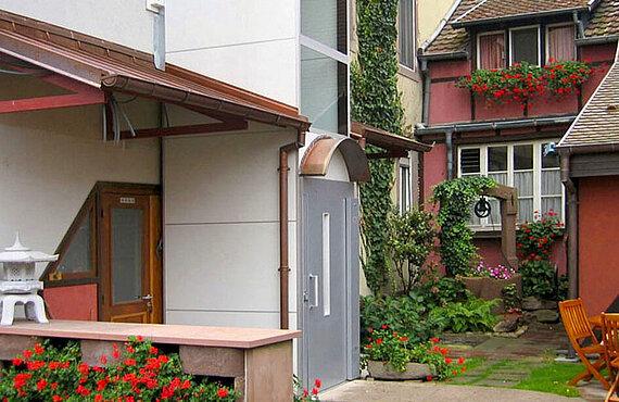 Homelift für den Außenbereich